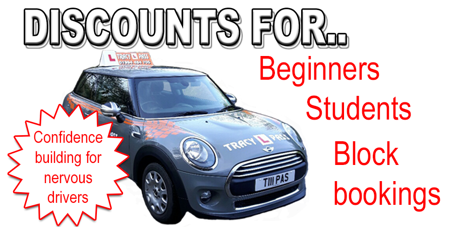 Driving lessons with Tracy L Pass School of Motoring